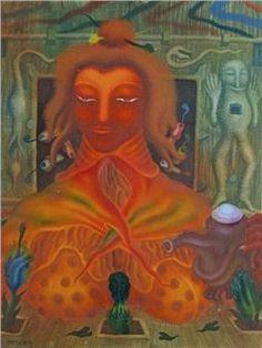 Arik Brauer Mixed Media, Auction, Museum, Artist, Label, Painting, Dortmund, Artists, Painting Art