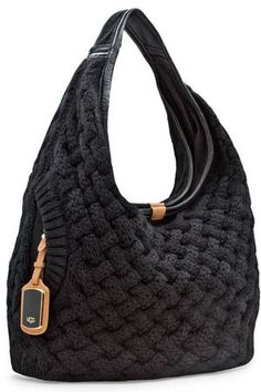 Celebrities who wear, use, or own UGG Knit Hobo Bag. Also discover the movies, TV shows, and events associated with UGG Knit Hobo Bag.UGG Australia Small Knit Hobo Tote Hand Bag Black Style for sale onlineOur Top Manage luggage are the most extremely My Bags, Purses And Bags, Uggs, Crochet Purses, Crochet Bags, Knitted Bags, Knit Bag, Cloth Bags, Beautiful Bags