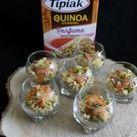 Voici des verrines réalisées avec du quinoa gourmand aux épices douces J'aime bien cuisiner cette petite graine qui va aussi bien en accompagnement qu'en salade. Le quinoa, appelé aussi riz des incas, est en fait une herbacée de la même famille que les...