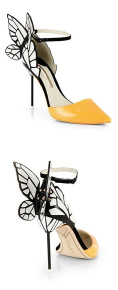 Butterfly Pumps / sophia weber just LOVE THESE!!! Wish they were chunky heels and I would own them.