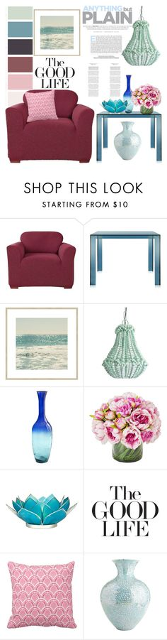"""""""Design Seeds"""" by hastypudding on Polyvore featuring interior, interiors, interior design, home, home decor, interior decorating, Sure Fit, Kartell, Bombay Duck and Pier 1 Imports"""