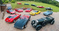 Starting, growing, and maintaining a classic car collection - http://classiccarland.com/ownership/classic-car-collection/