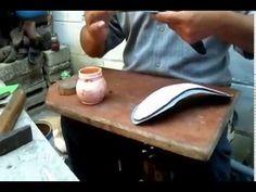 Cómo hacer una sandalia alta sin maquinaria, poca herramienta y montado con sus propios dedos. - YouTube