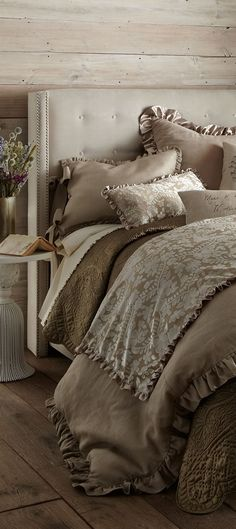 Bed and Bath Shop bed and bath at Buyer Select. Our curated selection includes beautiful duvet covers, designer, and luxury bedding sets as well as sumptuous linens. French Country Bedding, French Country Bedrooms, French Country Decorating, French Bedding, French Decor, Home Bedroom, Bedroom Decor, Bedroom Ideas, Master Bedroom