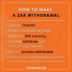 Here's how to withdraw your hard-earned ZAR from ChainEX 🚀🚀 👇👇👇 #bitcoin #btc #eth #chainex #chainexroadto200k #assets #doge #traders #warrenbuffet #davidbailey #crypto #cryptocurrency