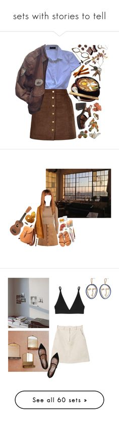 """""""sets with stories to tell"""" by wildfl0wers-x ❤ liked on Polyvore featuring Dolce&Gabbana, Bobbi Brown Cosmetics, PLANT, vintage, Toast, Mapleton Drive, Schott Zwiesel, Disney Couture, MANGO and Base Range"""