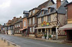 Beuvron-en-Auge. lower normandy. france. Region Normandie, Normandie France, Europe, Beaux Villages, Places To Go, Adventure, Mansions, Calvados, House Styles