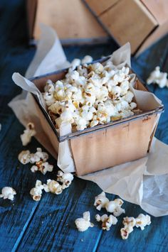 A sweet and salty Buttery Brown Sugar Popcorn Recipe perfect for snacking!