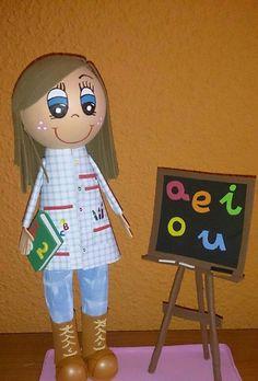 Fofucha profesora infantil