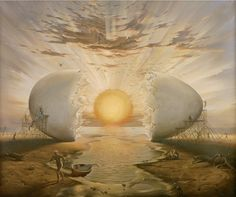 VISIONARY ART - VLADIMIR KUSH - LOVE and LIGHT world