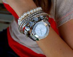 Michael Kors Gold Watch Fashion inspiration Pinterest Michael