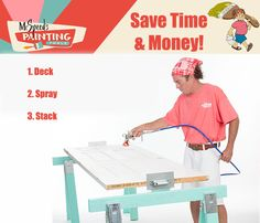 Easy as 1, 2, 3!  Save time & money with Mr. Speed's Painting Tools.https://goo.gl/BfM92U
