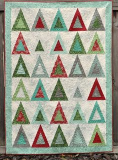 Evergreen State Quilt Pattern via Craftsy