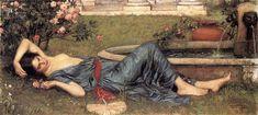 Sweet Summer - John William Waterhouse