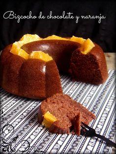 Bizcocho de chocolate y naranja | Cocinar en casa es facilisimo.com