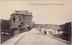 Boulevard met kantongerecht (huidige Koningin Wilhelminastraat) 1915