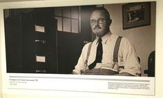 A former director of the ICR…one of many images of inspiring ICR scientists that feature on our walls.