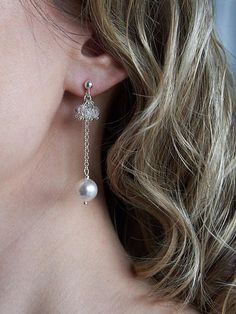 Items similar to Wedding Earrings Long Bridal Earrings Crystal Clear White Pearl Sterling Silver 925 Earrings Crystal Clear Drop Earrings Pearl Crystal on Etsy Small Earrings, Pearl Drop Earrings, Crystal Earrings, Dangle Earrings, Sterling Silver Anklet, Silver Anklets, Bridesmaid Earrings, Wedding Earrings, Swarovski Pearls