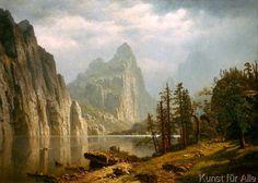 Albert Bierstadt - Merced River, Yosemite Valley
