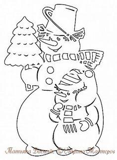 В этом году продолжаю историю Весёлых Снеговичков:)  Наконец-то к нам приехал Дедушка Мороз, Он в большой-большой машине всем подарочки привёз!   фото 14 Christmas Balls, Christmas Snowman, Christmas Wreaths, Christmas Decorations, Christmas Ornaments, Snowman Images, Diy And Crafts, Paper Crafts, Christmas Cartoons