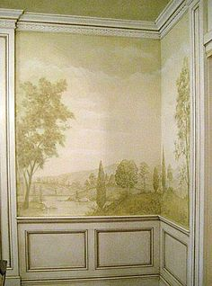 221 best Fresco and Mural Stencils images on Pinterest Wall
