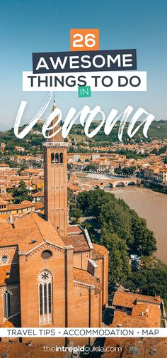 26 Best Things to do in Verona Italy - Travel Tips, Accommodation, Map - Summer Bucket List Italy Travel Tips, Free Travel, Travel Destinations, Travel Europe, Sicily Travel, Budget Travel, Cinque Terre, Verona Italy, Puglia Italy