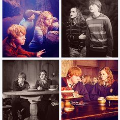 Ron and Hermione-together forever!