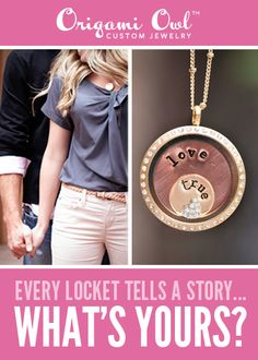 Loving Origami Owl's custom Jewelry