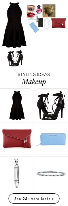"""Untitled #770"" by misswinters on Polyvore featuring New Look, Schutz, NARS Cosmetics, Christian Dior, West Coast Jewelry, BERRICLE, Henri Bendel and MICHAEL Michael Kors"
