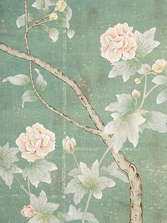 Paul Montgomery hand painted wallpapers