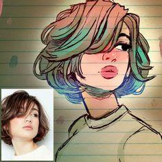 Petite fille dessin animé dessins fille dessin visage fille dessins de filles dessin de photo de flle