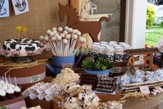 Cowboy baby shower theme