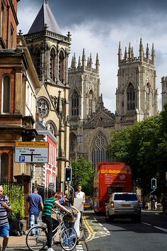 York, England... hoping to make it a reality this summer and visit an old friend from school
