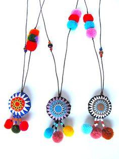 Veera Pompom Necklace