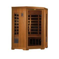 Torino 3 Person Corner FAR Infrared Sauna