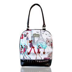 Sweet Angel Bell Extra Big no. 70 I love Paris / Zboží prodejce Dara bags I Love Paris, Fashion Backpack, Backpacks, Big, Backpack, Backpacker, Backpacking