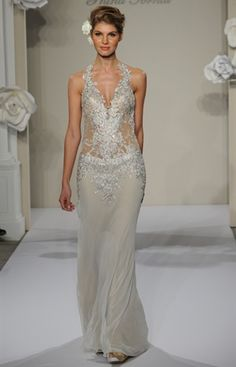The Knot Note: These hot-off-the-runway dresses may not be available until spring 2013.Photo: Kurt Wilberding