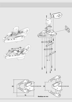 Rc Robot, Robot Arm, Garra, Robot Gripper, Arduino R3, 3d Printer Designs, Robot Technology, Object Drawing, Electrical Installation