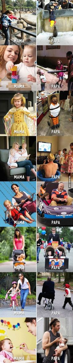 The Difference between Mama & Papa