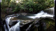 Aberdulais Tinworks and Waterfall