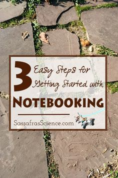 3 Easy steps for getting started with Notebooking | Sassafras Science
