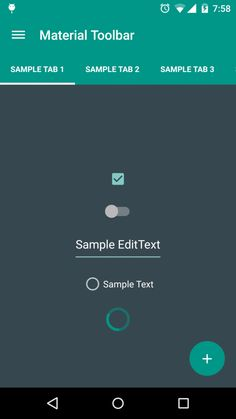 @MaterialUp : Android Material DesignToolbar   Library by @selimtekinarsln #code  https://t.co/a7fgDfUCVa https://t.co/IlOb6StOom