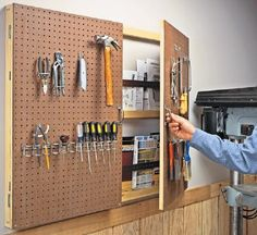 More ideas below: Workout diy pegboard hooks Hacks  pegboard Tools storage Painted diy pegboard Craft Room Display Backsplash diy pegboard tool holder Office diy pegboard ideas craft storage Wall pegboard Plants organization Accessories pegboard tool organization Kids pegboard ideas Installation garage How To Hang pegboard diy kitchen Shelves pegboard diy Workshop Interior decor