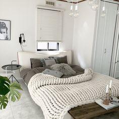 Bedroom/DIY/北欧/ホワイトインテリア/海外風インテリア/海外インテリア...などのインテリア実例 - 2017-12-11 05:45:59