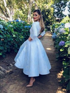 Plunging bodice with length sleeves white pageant dress. White Satin, White Lace, White Dress, White Pageant Dresses, Demi Leigh Nel Peters, Peter White, Fade Styles, Ootd, Hijab Dress