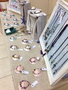 The Blue Starfish Beach Theme Jewelry Display at Newbury Market Craft Fair Displays, Jewelry Displays, Jewelry Show, Jewellery, Display Design, Fresh Start, Beach Themes, Craft Fairs, Organizers