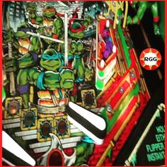 You'd like this one by retrogamegeeks #retrogaming #microhobbit (o) http://ift.tt/2da21o6 THURSDAY: Pinballs were part of our life too so let's show some of them. Today it's TMNT. Fancy some heroes in a half shell? Turtle Power! #arcade #pinball #tmnt  #retro #teenagemutantninjaturtles #flippers