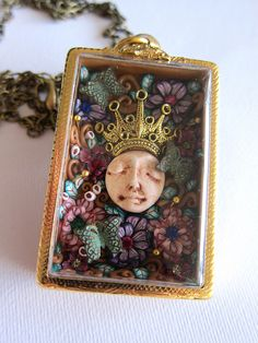 the flower queen by rockybeads, via Flickr