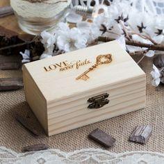 """Ringschachtel """"Truhe"""" für die rustikale Hochzeit #wedding #weddingdecoration #weddingrings"""