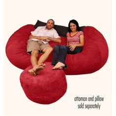 Comfy Sacks Wildon Home Bean Bag Couch and Ottoman - Great Deals on all Furniture products with the best selection to choose from!